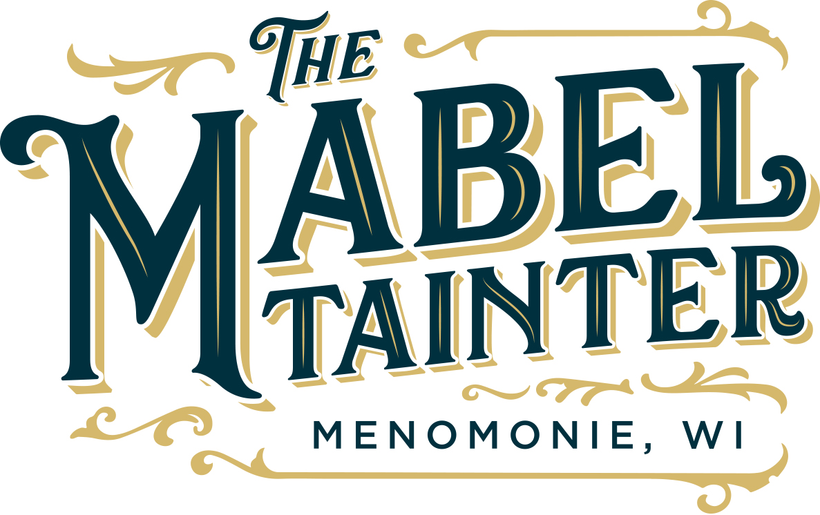The Mabel Tainter Logo Green